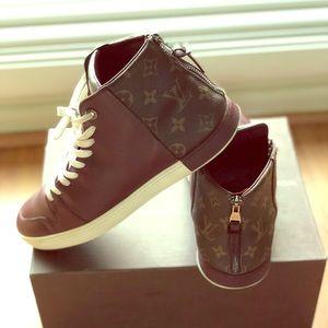 0ed5304e6d74 Louis Vuitton · Louis Vuitton high-top monogram sneaker